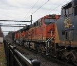 BNSF 7265 third on K140